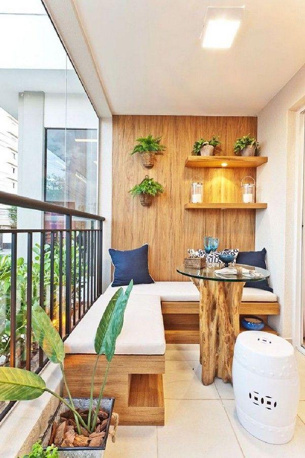 як красиво оформити балкон фото