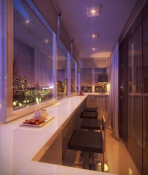 красиві лоджії і балкони фото