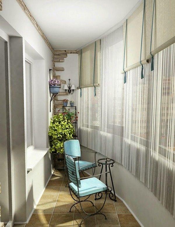 Напівкруглий красивий балкон фото