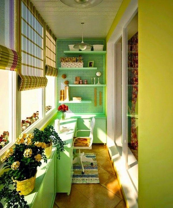 Красива кімната на балконі