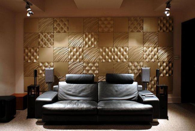 Фото - 3D панелі для стін: об'ємні ефекти в інтер'єрі