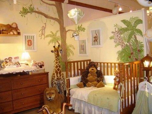 Дитяча кімната джунглі