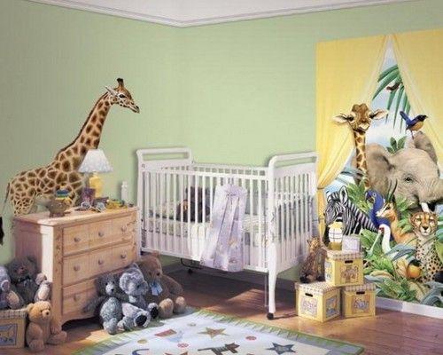 Африканські мотиви в інтерєрі дитячої кімнати