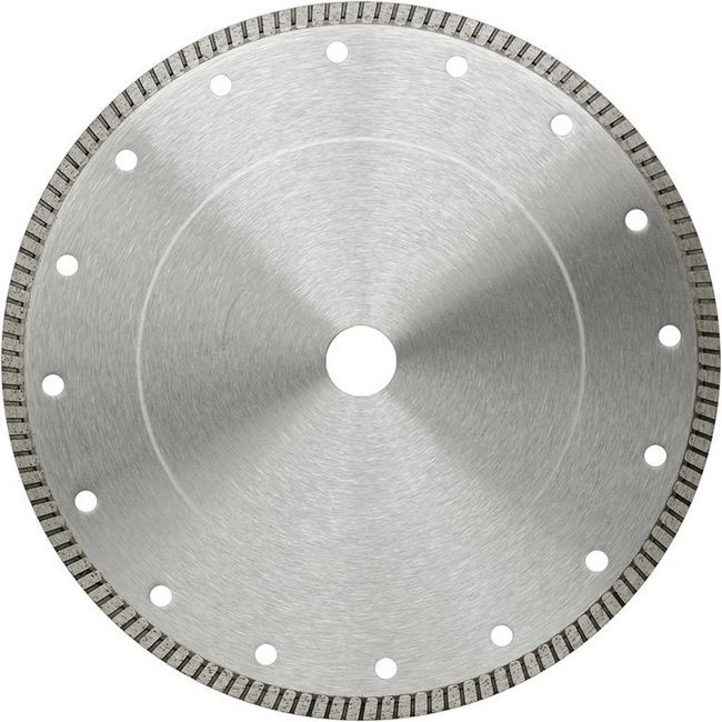 Алмазний диск з турбированной кромкою