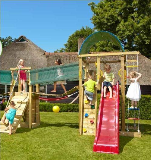Фото - Активний відпочинок з дітьми - облаштовуємо дитячий майданчик для дачі