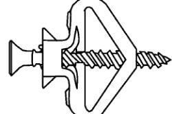 Фото - Анкерні конструкції, дюбелі і кріплення для гіпсокартону