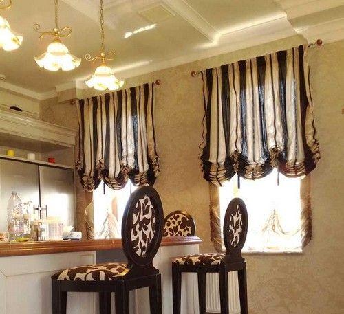 Фото - Австрійські штори: елегантне оформлення вікна