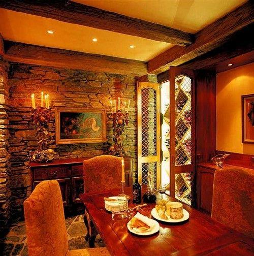 Фото - Балки на стелі - оригінальний декор з сільським присмаком