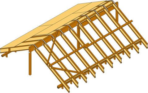 Фото - Балки будівельні: дерев'яні, залізобетонні, металеві