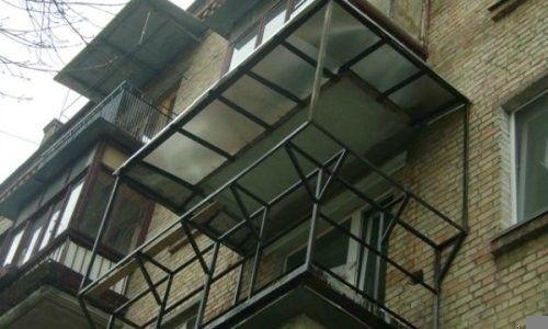 Фото - Балкон з виносом своїми руками