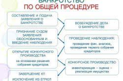 Банкроства ВАТ за загальною процедурою.