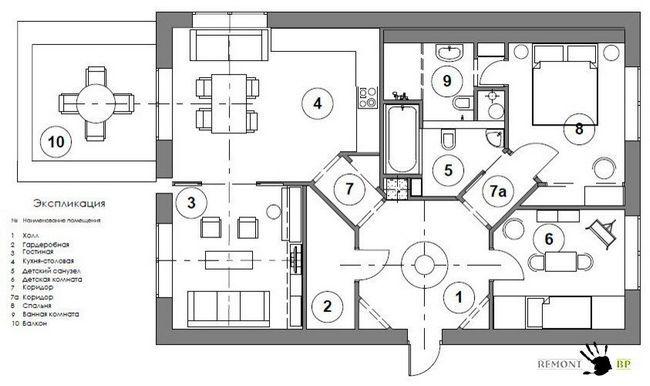Фото - Самобутній дизайн квартири в скандинавському стилі