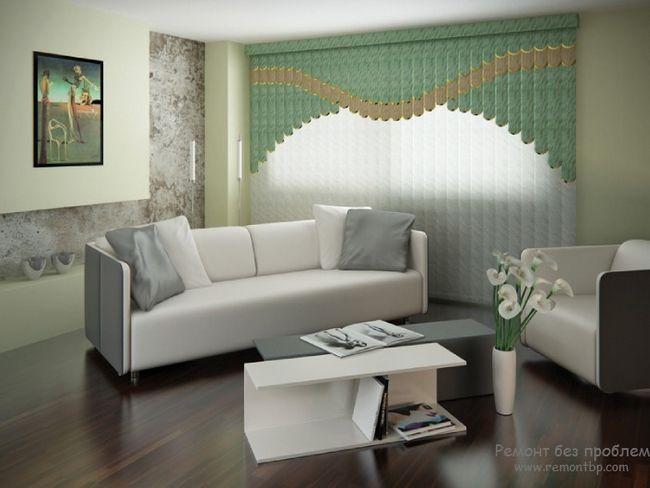 Дзеркало і інші елементи декору приміщення