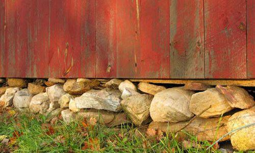 камяний фундамент