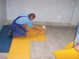 плитка пвх для підлоги укладання