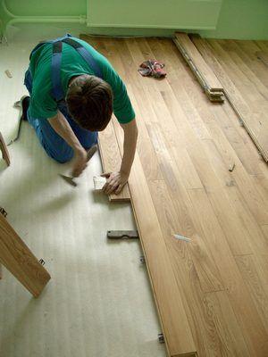 Фото - Швидка укладання дерев'яної підлоги по балках і грунту
