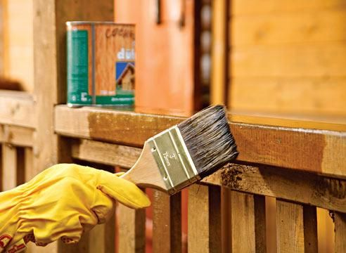 Фото - Чим можна пофарбувати дерев'яний будинок?