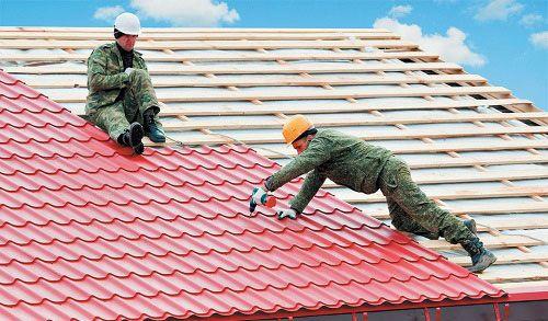 Чим можна покрити дах