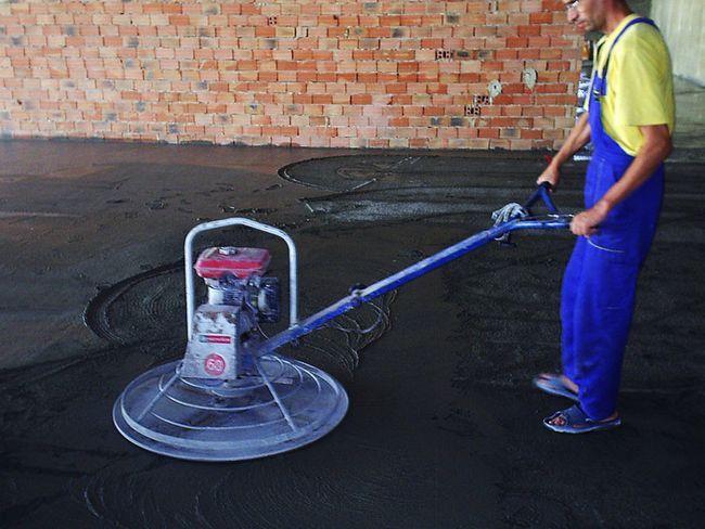 Топпінг - це суміш, яка наноситься на бетонну підлогу при його зплівке.