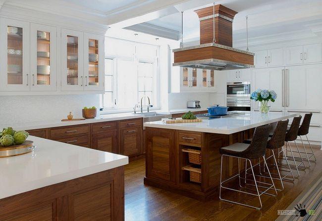 Фото - Вибираємо практичні і красиві фасади для кухонних шаф
