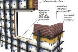 Конструкція підвісу для вентильованого фасаду