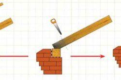 Схема ремонту згнилі місця крокв