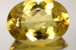 Геліодор - жовтий різновид берилу