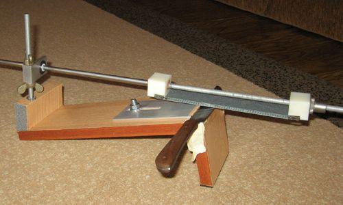 Саморобна точилка для ножів