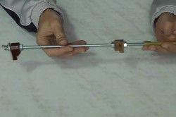 Шпилька з власником-струбциною для абразивного бруска