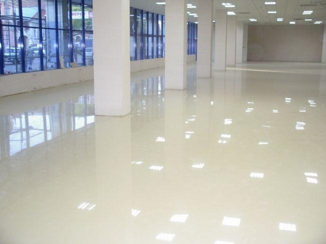 Промисловий наливна підлога