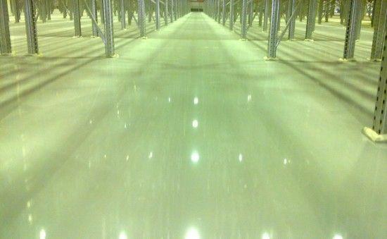 Наливна промислова підлога