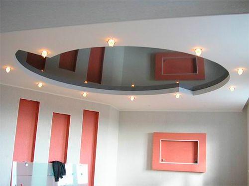 Підвісні і натяжні стелі в інтерєрі