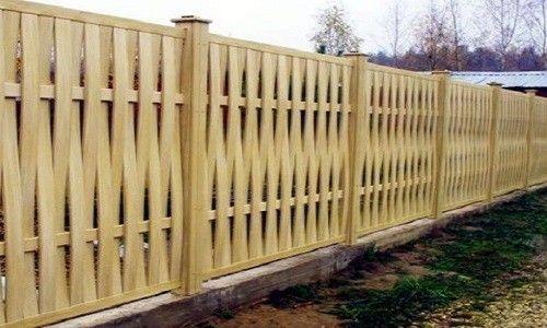 Фото - Дачний паркан своїми руками