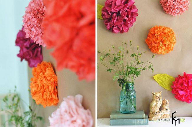Виготовлення декоративних паперових квітів - 8