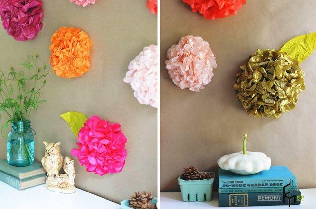 Виготовлення декоративних паперових квітів - 9