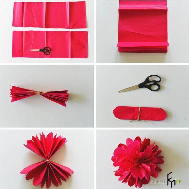 Виготовлення декоративних штучних квітів -3