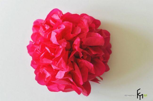 Виготовлення декоративних штучних квітів -4
