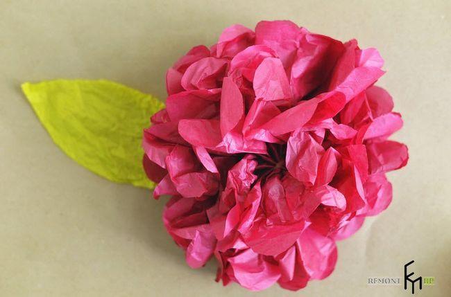 Виготовлення декоративних штучних квітів -6