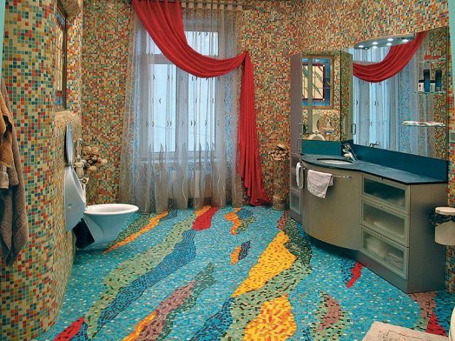 Фото - Декоративна плитка своїми руками: мозаїка з битою плитки