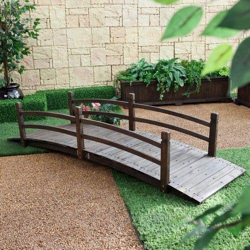 Фото - Декоративні садові містки - практичне і естетичне рішення для приватної садиби