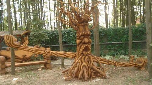 Виготовлення дерев'яних гойдалок своїми руками