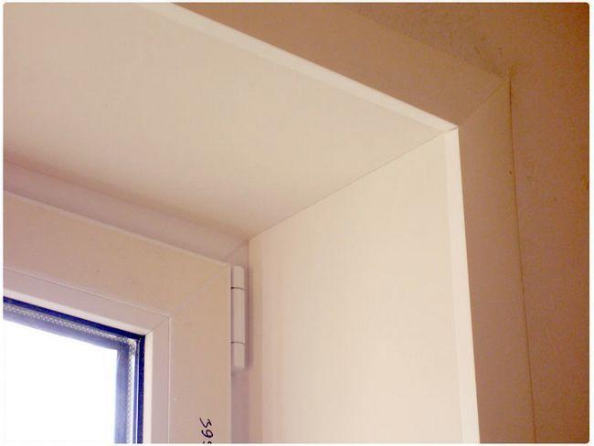 Фото - Робимо рівні скоси віконних прорізів