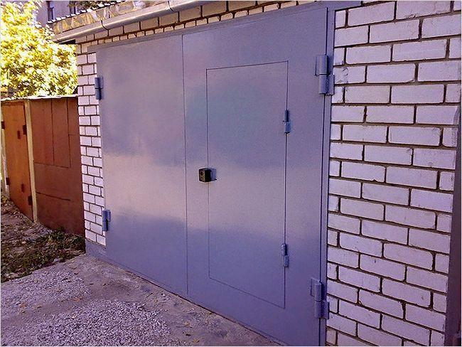 Фото - Робимо ворота для гаража