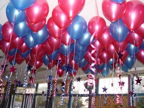 Прикраса повітряними кулями - дитячий День Народження