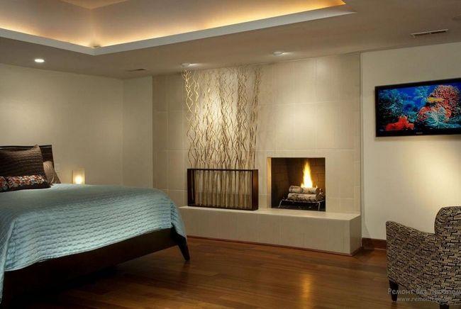 Стильний дизайн стін і стелі з гіпсокартону