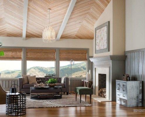 Поєднання стелі із загальним дизайном інтерєру