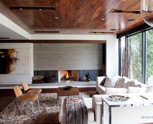 Сучасні деревяні стелі