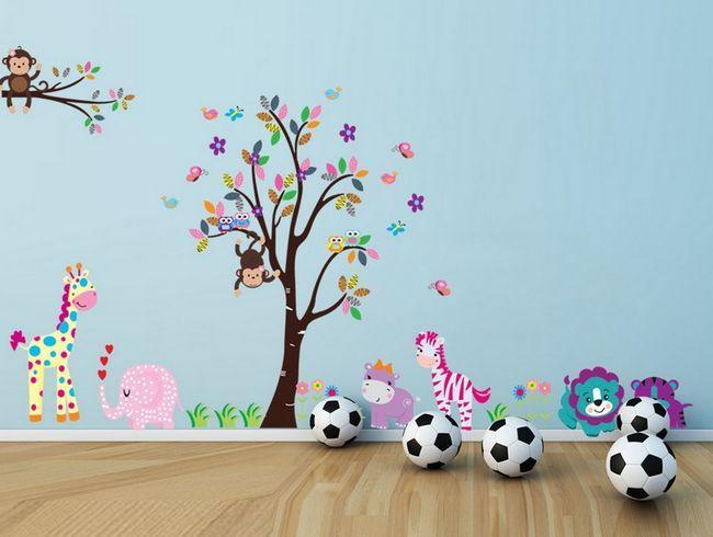 Фото - Дерево на стіні: додайте яскравості вашому побуті