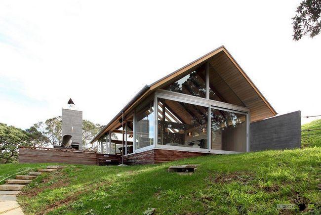 Фото - Унікальний дизайн скляного будинку в новій зеландії