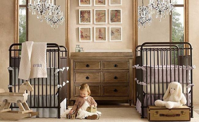 Фото - Дитяча кімната для двійнят: щастя, помножене на два